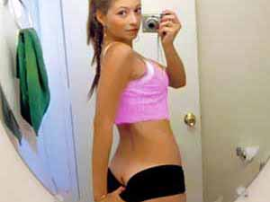 Tight bodied and ass stacked teen loves taking naughty pics of herself in the bathroom,bedroom and more. She posted it on a top social sites privately and days we already got them all hacked and they are all juicy pics and videos.